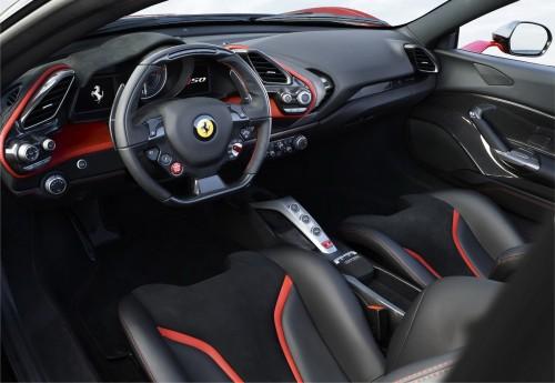 フェラーリ J50 内装