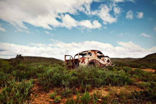廃車・放置車両の画像