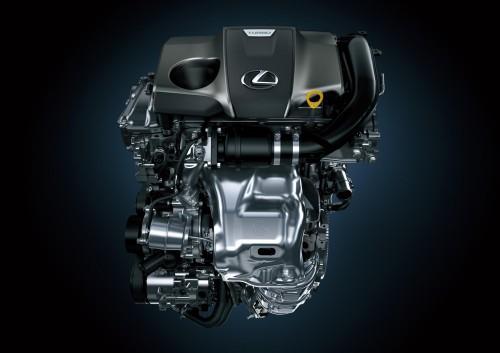 レクサスNX200tエンジン