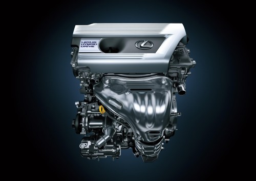 レクサスNX300hエンジン