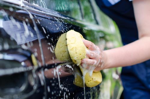 手洗い洗車のイメージ画像