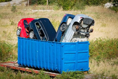 廃車のイメージ画像