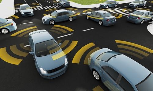 自動運転 コネクテッドカーのイメージ画像