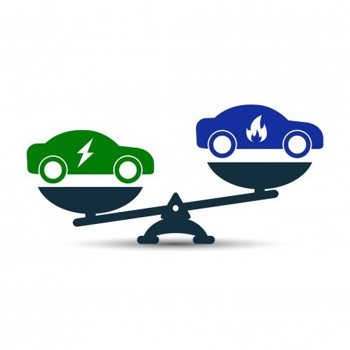 新車と新古車・未使用者の比較