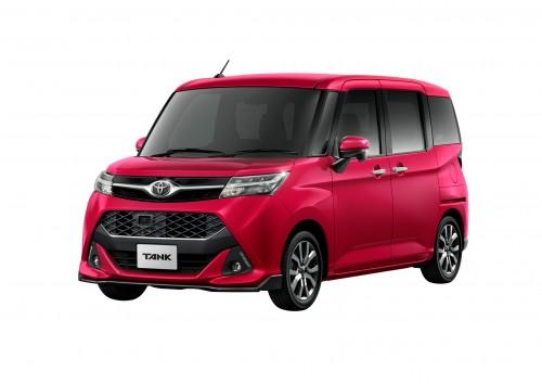 トヨタ タンク カスタムG-T 新型 2016年