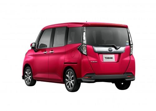 トヨタ タンク カスタムG-T 新型 リア