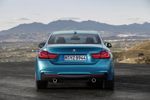 2017新型BMW4シリーズ リア外観