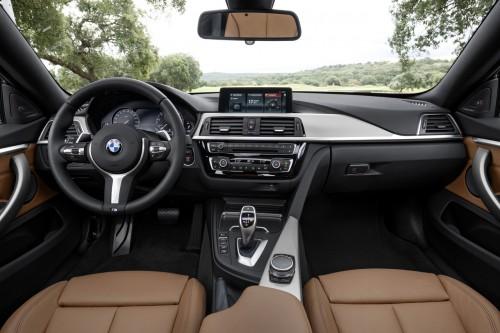 2017年 新型 BMW 4シリーズ 内装