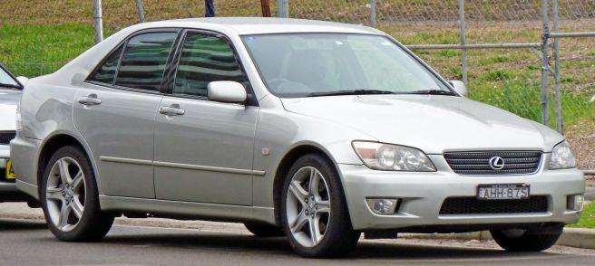 初代 レクサス IS200 外観