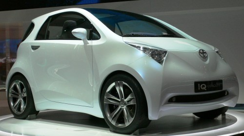 2007 トヨタ iQ コンセプトカー