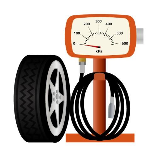 タイヤ 空気圧 チェック