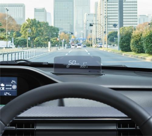 スズキ ワゴンR 新型 ヘッドアップディスプレイ 2017年