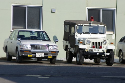 三菱 ジープ 73式 小型トラック 外装
