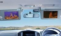 車のサンバイザーモニターのおすすめランキングTOP5|取り付け方法や車検での注意点も