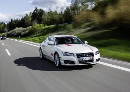 アウディ A7 自動運転 コンセプトカー