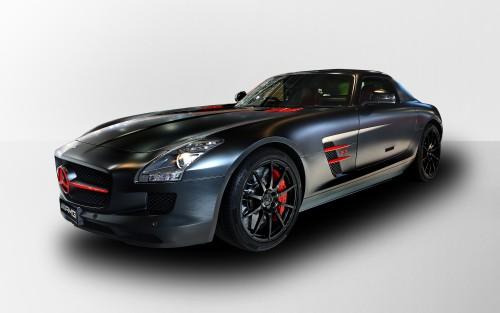 メルセデスベンツ SLS AMG マットブラックエディション