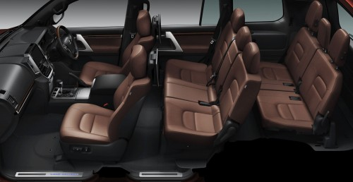 2015トヨタ・ランクルZX内装