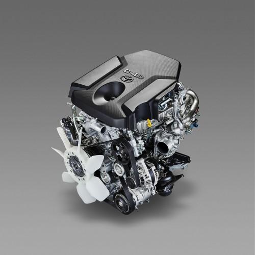 新開発2.8Lクリーンディーゼルエンジン「1GD-FTV」
