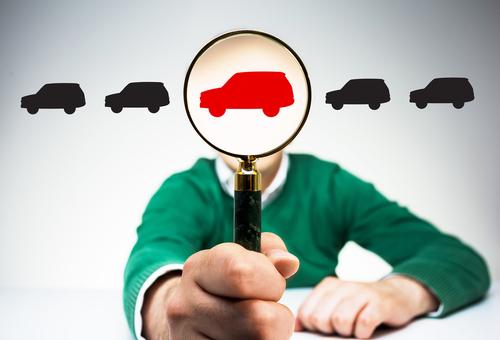 車を選ぶ イラスト