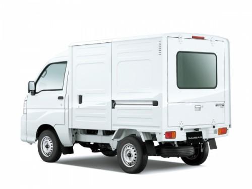 スバル・7代目サンバーパネルバン ハイルーフ 4AT セレクティブ4WD