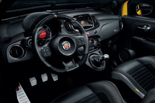 アバルト 595 コンペティツィオーネ 2017年