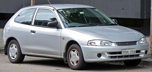 三菱 ミラージュ 5代目 2001年
