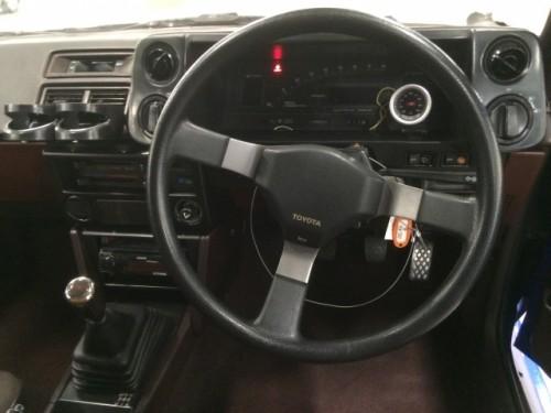 AE86内装 メーター周り