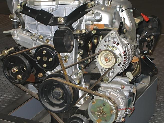 エンジン ファンベルト セルモーター コンプレッサー オルタネーター