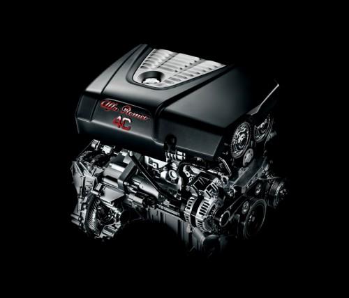 アルファロメオ4Cのエンジン