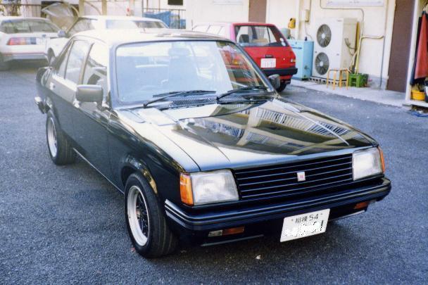 いすゞ ジェミニ ZZ-R 1981年