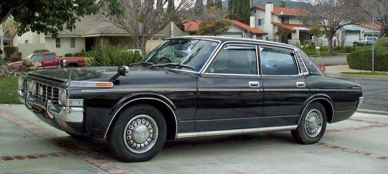 トヨタ・クラウン 2000スーパーサルーン 1973年