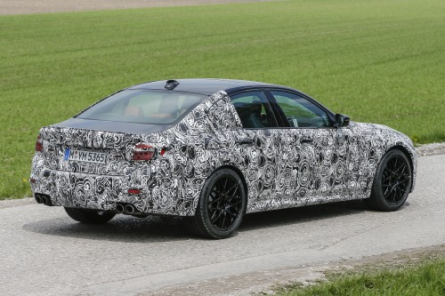 新型 BMW M5 テスト車両 2017年5月