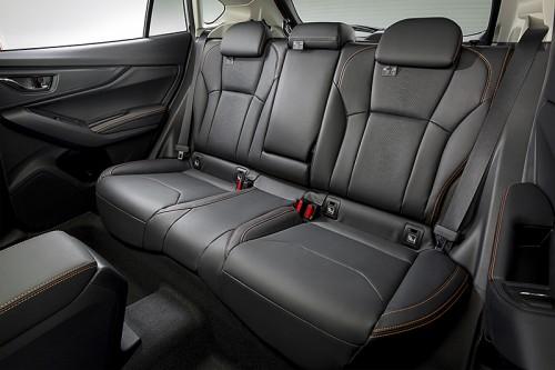 スバル 新型 XV 2017 内装デザイン