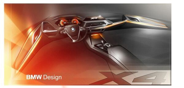 BMW 新型X4 デザイン