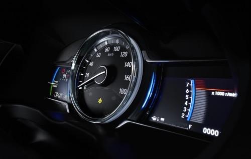 ホンダ新型グレイス 2017年7月マイナーチェンジ メーター