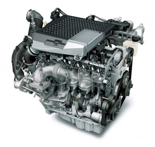 MZR 2.3L DISIターボエンジン
