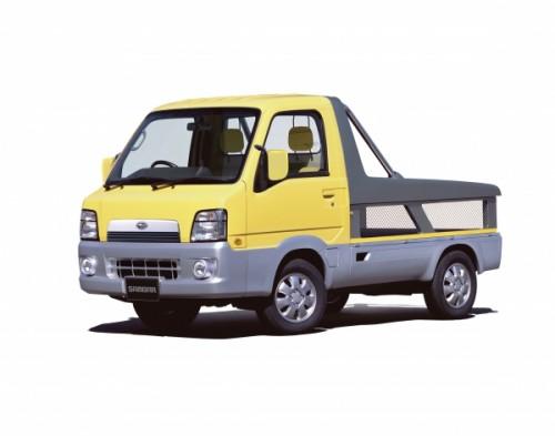 スバル・6代目サンバースポーツトラック(2002モーターショー参考出品車)