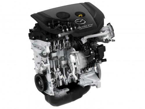マツダ デミオ XD ディーゼルエンジン