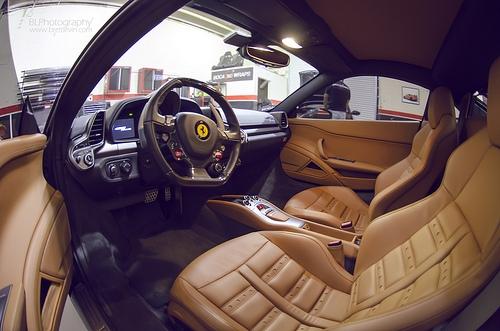 フェラーリ 458 イタリア 内装 2013年