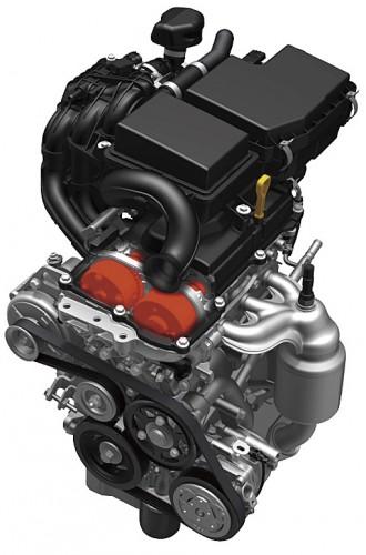 MRワゴン R06A型 DOHC 吸排気VVTエンジン 2011年