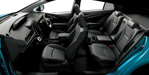 トヨタ プリウスPHV 新型 2017年 内装