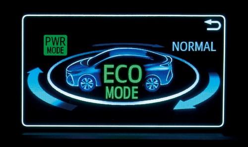トヨタ 新型 プリウス PHV エコドライブモード