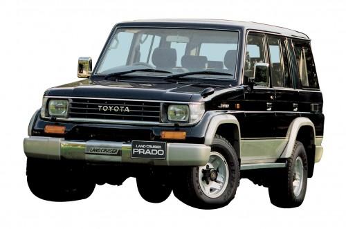 トヨタランクル 70 プラド 1990年