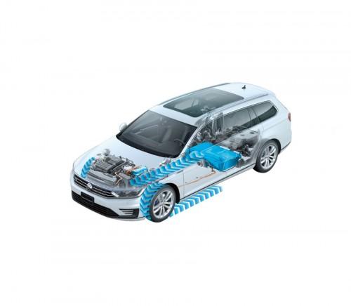 VWパサートGTE・Eモード