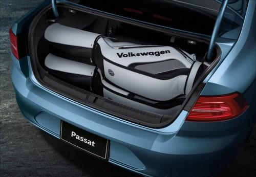 VWパサートセダン・トランクルーム