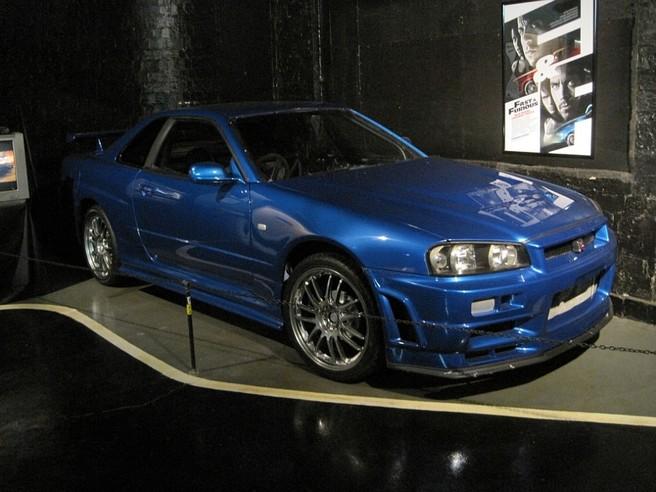 日産 スカイライン GT-R R34 (映画ワイルドスピード)