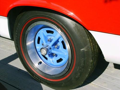 スチールホイール 1969年式 AMC SC ランブラー