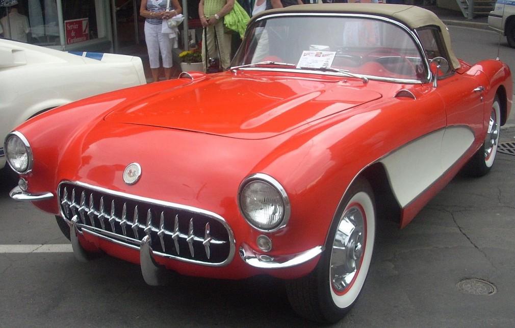 シボレー コルベット C1型 初代 1956年