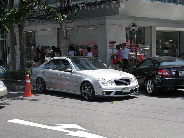 メルセデス W211 外観