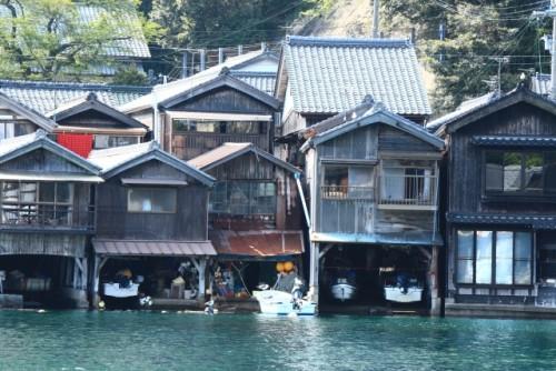 京都 舞鶴 伊根の舟屋